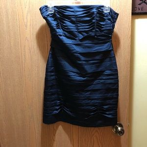 BCBG Navy Blue Body Con Dress